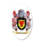MacAlester 20x12 Oval Wall Decal