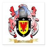 MacAlaster Square Car Magnet 3