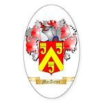 MacAirter Sticker (Oval 50 pk)