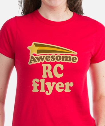Awesome RC Flyer Women's Dark T-Shirt