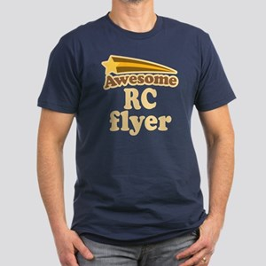 Awesome RC Flyer Men's Fitted T-Shirt (dark)