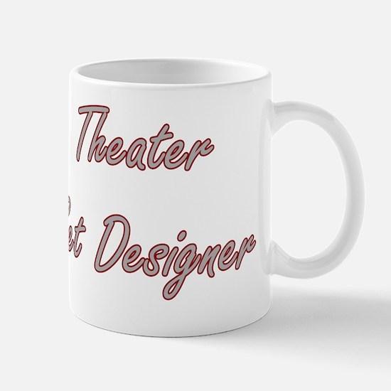 Theater Set Designer Artistic Job Desig Mug