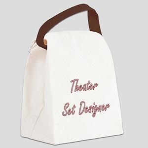 Theater Set Designer Artistic Job Canvas Lunch Bag