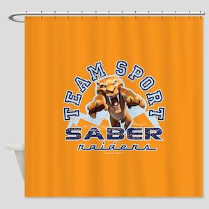 Ice Age Diego Saber Raider Shower Curtain