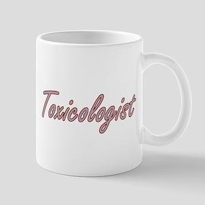 Toxicologist Artistic Job Design Mugs