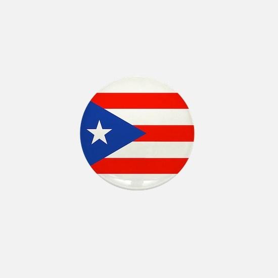 Boricua Bandera Puerto Rican Orgullo 4 Mini Button