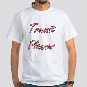 Transit Planner Artistic Job Design T-Shirt