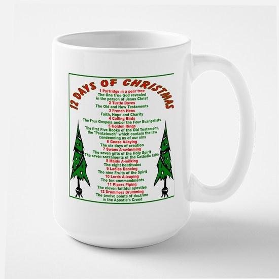 12 Days of Christmas Large Mug