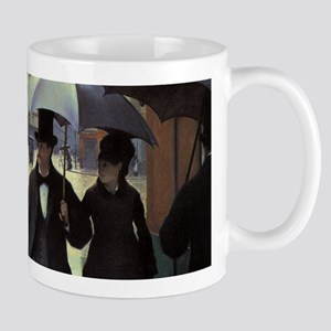 Paris Street, Rainy Day by Gustave Caillebott Mugs