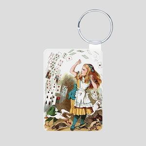 Alice In Wonderland  Aluminum Photo Keychain