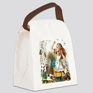 Alice In Wonderland  Canvas Lunch Bag