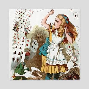 Alice In Wonderland  Queen Duvet