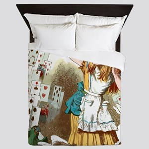 Alice In Wonderland  Queen Duvet