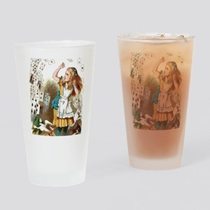 Alice In Wonderland  Drinking Glass