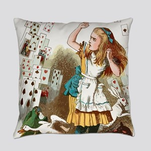 Alice In Wonderland  Everyday Pillow