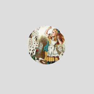 Alice In Wonderland  Mini Button