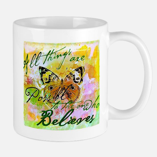 All things are possible Mugs