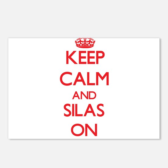 Keep Calm and Silas ON Postcards (Package of 8)