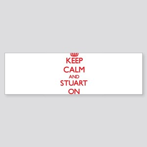 Keep Calm and Stuart ON Bumper Sticker