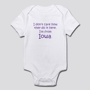 From Iowa Infant Bodysuit