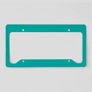 Sold Teal License Plate Holder