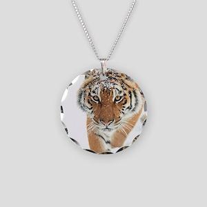 Snow Tiger Necklace