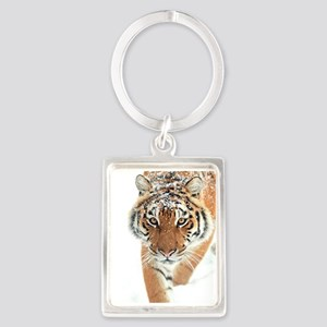 Snow Tiger Keychains