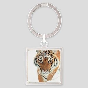 Snow Tiger Keychains