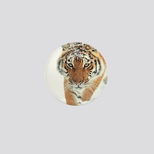 Snow Tiger Mini Button