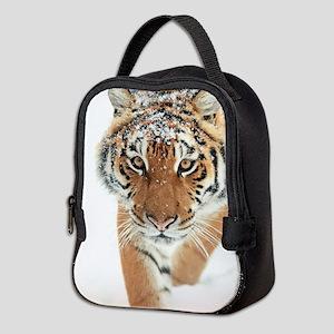 Snow Tiger Neoprene Lunch Bag