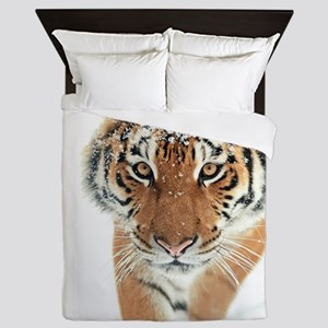 Snow Tiger Queen Duvet
