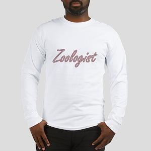 Zoologist Artistic Job Design Long Sleeve T-Shirt