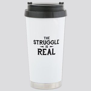 The Struggle is Real Ceramic Travel Mug