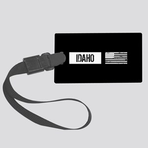 U.S. Flag: Idaho Large Luggage Tag