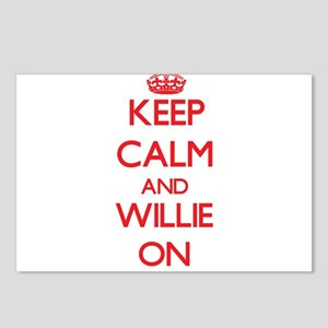 Keep Calm and Willie ON Postcards (Package of 8)