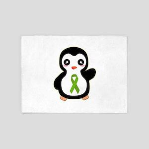 Kidney Awareness 5'x7'Area Rug