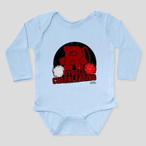Rydell Cheerleading Long Sleeve Infant Bodysuit