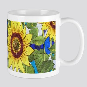 Country Sunflowers Mugs