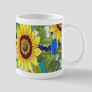 Country Sunflowers Mugs