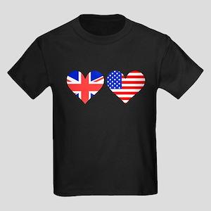 British American Hearts T-Shirt