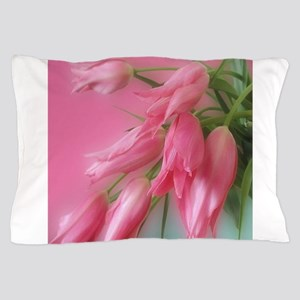 Gorgeous Pink Tulips Pillow Case