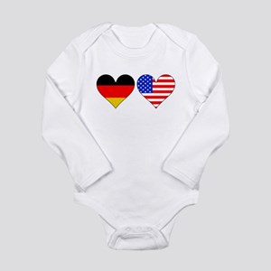 German American Hearts Body Suit