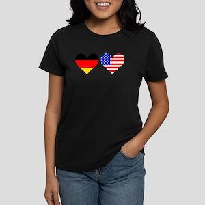 German American Hearts T-Shirt