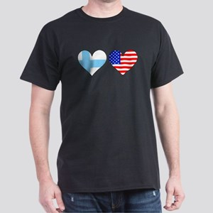 Finnish American Hearts T-Shirt