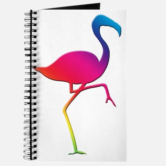 Rainbow Flamingo Journal