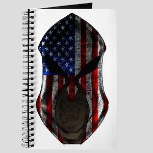 American Flag Helmet Journal