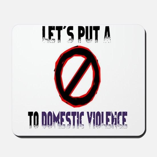Men's let's put a stop Mousepad