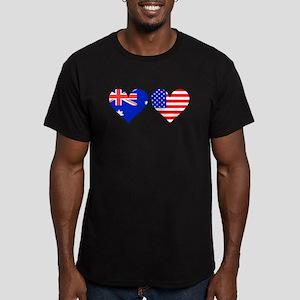 Australian American Hearts T-Shirt