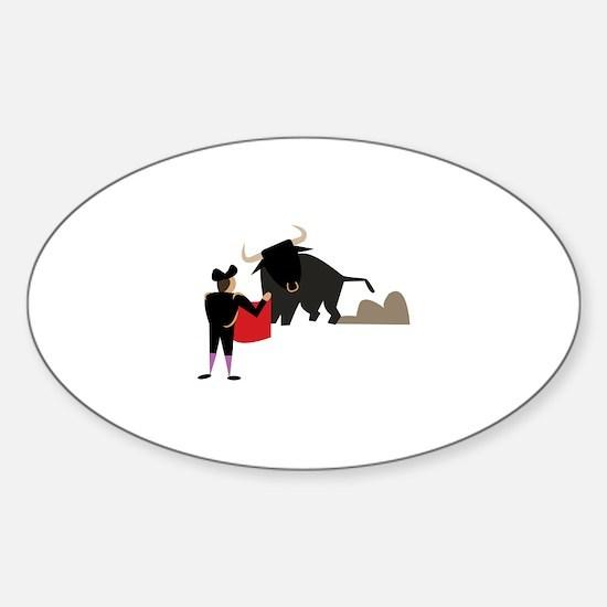 Bullfighter Decal