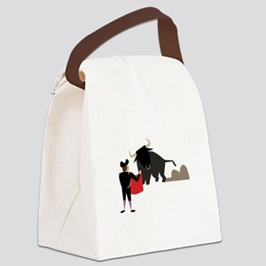 Bullfighter Canvas Lunch Bag
